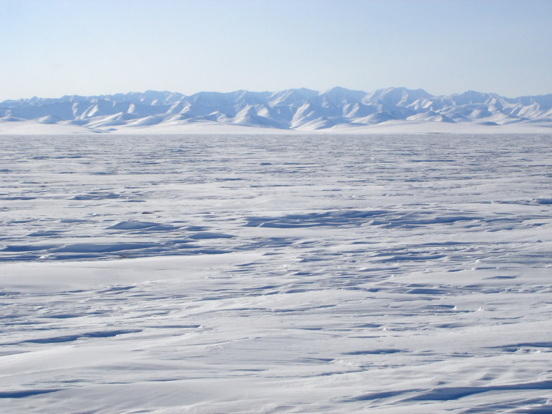 View from the edge of the Beaufort Sea. (iStock)