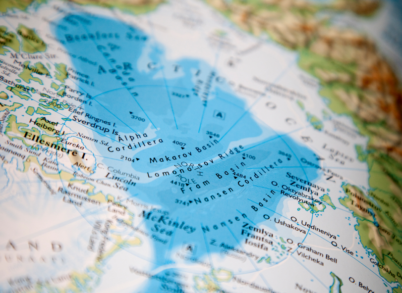 A recent study suggests an oil spill in the Canadian Arctic could also affect countries like the United States and Russia. (iStock)