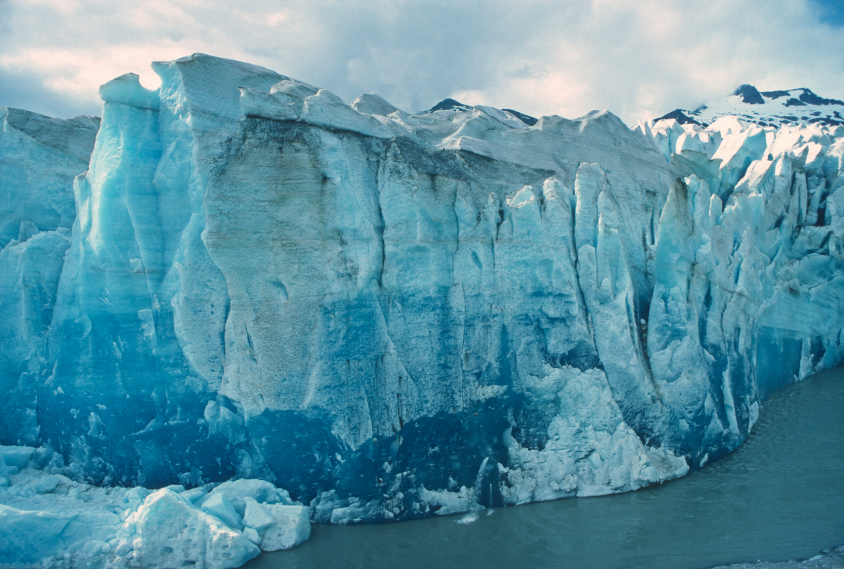 The face of the Mendenhall Glacier in Alaska. How will the changing climate affect Alaska's well-known sites? (iStock)