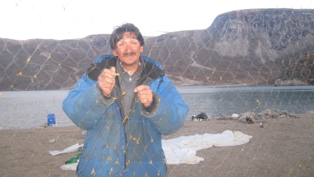 """Nobody cares for our concerns,"" says Jerry Natanine, mayor of Clyde River, Nunavut. ""And our Minister [of the Environment] in Ottawa, Leona Aglukkaq, not speaking up against this for Inuit is very wrong."" (Courtesy Jerry Natanine)"