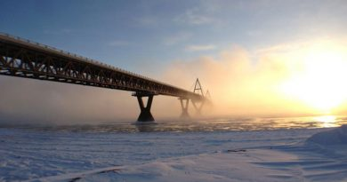 The community of Fort Providence, N.W.T., was originally going to get $40 million over 35 years from the bridge. Now, it will only get $7 million. (Elizabeth McMillan/CBC)