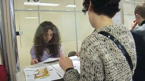 Applying for a visa at a Finnish visa post in Moscow.(Yle )