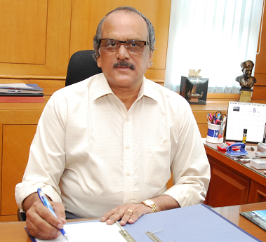 Rajan Sivaramakrishnan, the director of India's National Centre for Antarctic and Ocean Research. (Courtesy Rajan Sivaramakrishnan)