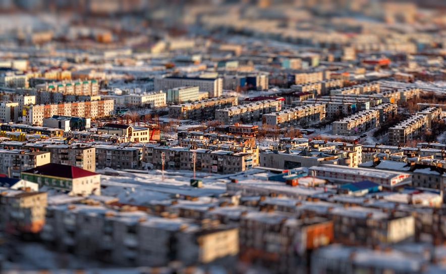 The Petropavlovsk-Kamchatsky cityscape in Russia's Far East. (iStock)
