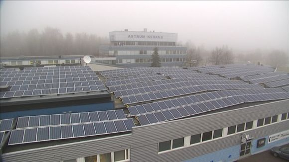 The solar energy tax regime has cooled business ardour for producing solar energy. (Jussi Kallioinen / Yle)