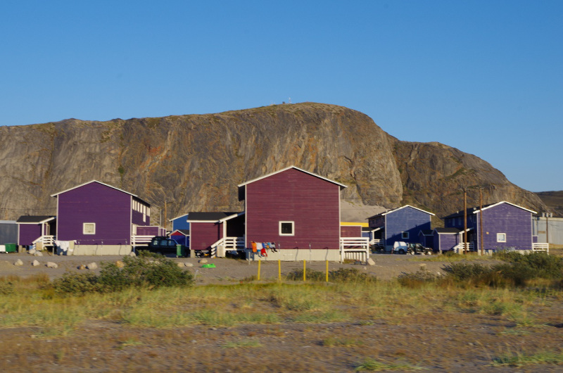 Houses in Kangerlussuaq, Greenland. ( Mia Bennett / August 2014)