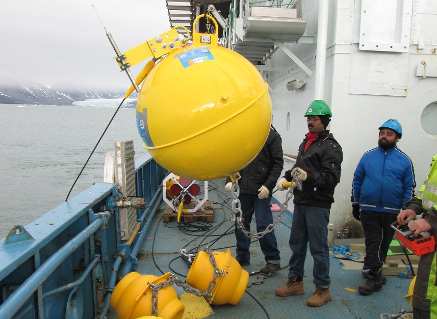 IndArc will allow scientists to collect data year-round. (Courtesy National Centre for Antarctic and Ocean Research)