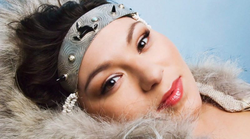 Inuit throat singer Tanya Tagaq is shown in a handout photo. Tagaq claimed the $30,000 Polaris Music Prize on Monday night, then used her acceptance speech to support the wearing and eating of seal - and lob an expletive at People for the Ethical Treatment of Animals. (The Canadian Press)