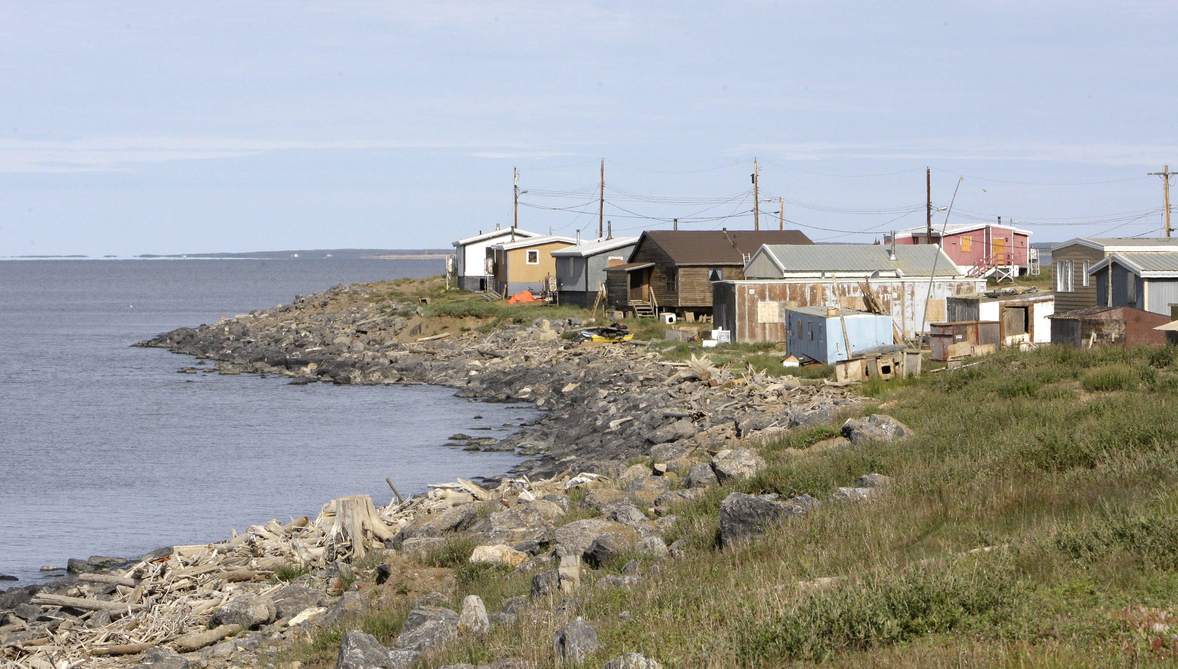 Tuktoyaktuk, Northwest Territories. Could this sleepy Arctic hamlet one day be an oil export terminal?