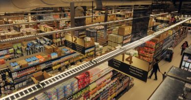 The new Swanson's grocery store opened up in Bethel over the summer. (Bob Hallinen / Alaska Dispatch News)