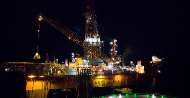 The West Alpha rig. (Rosneft)