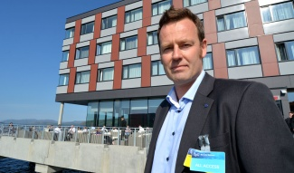 Nils Bøhmer with the Bellona Foundation. (Thomas Nilsen / Barents Observer)