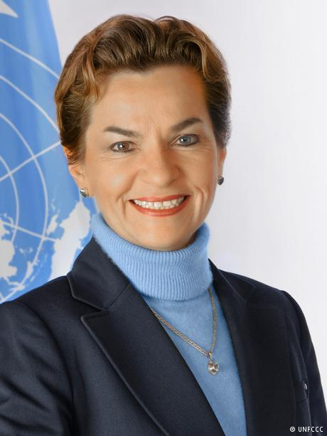 UN climate chief Christiana Figueres. (UNFCCC)