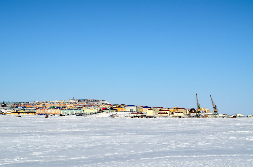 Anadyr, the capital of Chukotka, little town nearby the Polar circle.  (iStock)