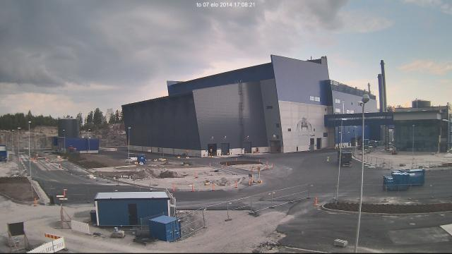 Vantaa Energy's waste plant site. (Vantaa Energy)