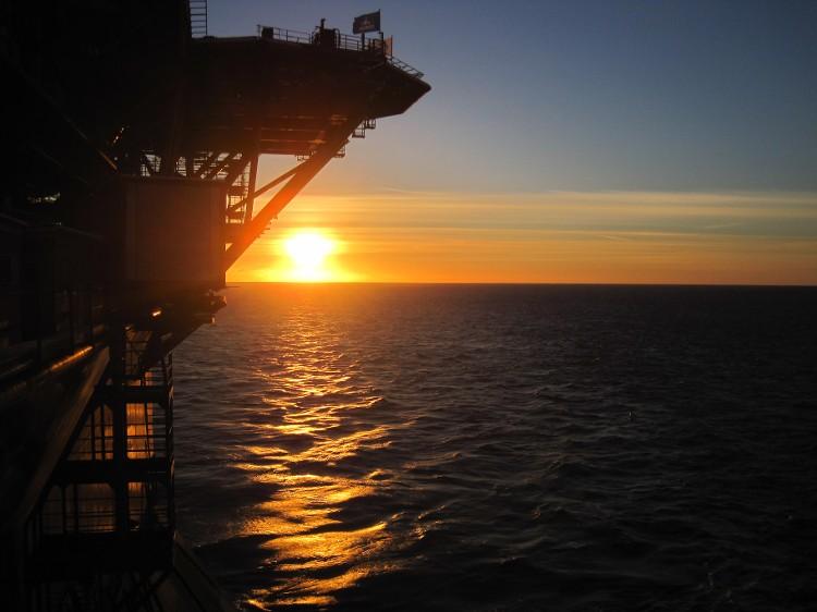 The Prirazlomnaya offshore platform. (Gazprom)