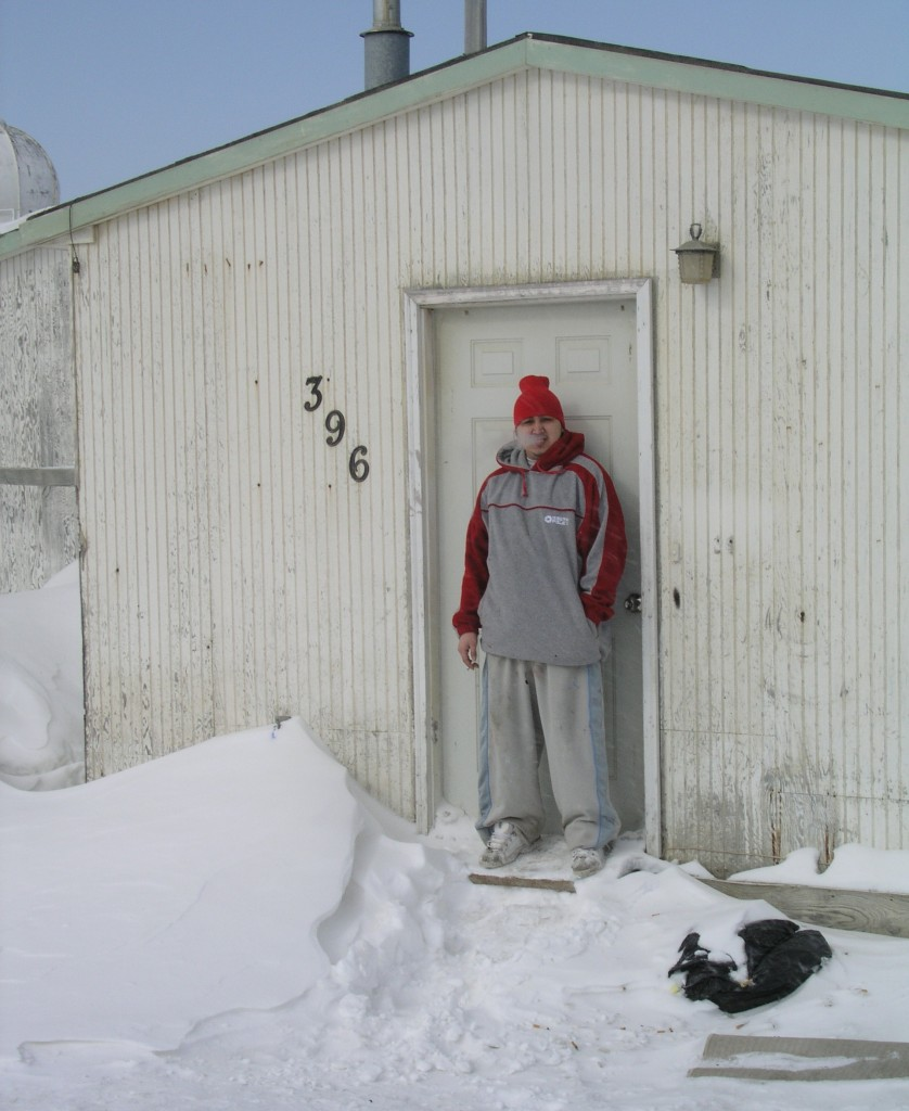 Emissions will have to go down much further if Barrow, Alaska, is to stay cool.  (Irene Quaile)