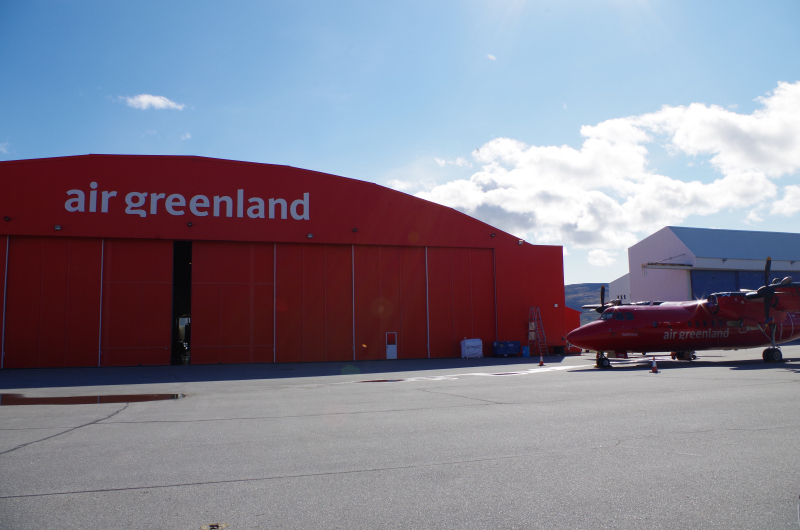 Up to ten Air Greenland routes are up in the air pending government subsidies, which cannot be decided until after the November 28 elections. (Mia Bennett)