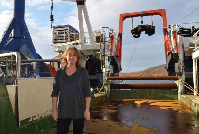 Elena Eriksen is research coordinator at the Norwegian Institute of Marine Research. (Atle Staalesen/Barents Observer)