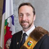 Sergeant-at-Arms, Brian Thagard. (NWT Legislature)