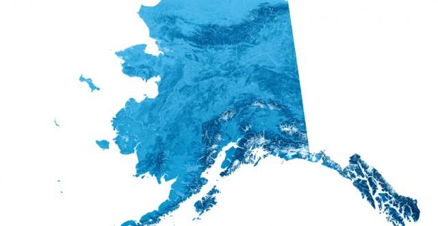 Map of Alaska. (iStock)
