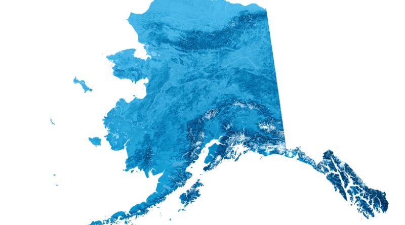 Some parts of Alaska's coastline have never been surveyed. (iStock)