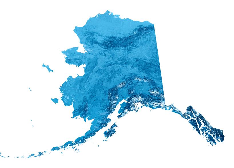 Some parts of Alaska's coastline have never been surveyed. (iStock)