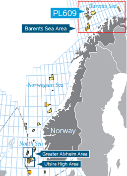 Map of new find announced by Lundin Petroleum. (Lundin Petroleum)