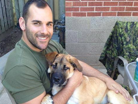 Canadian reservist Cpl. Nathan Cirillo is shown in an undated photo taken from his Facebook page. Cirillo was shot in Ottawa on Wednesday while guarding the National War Memorial. (The Canadian Press)