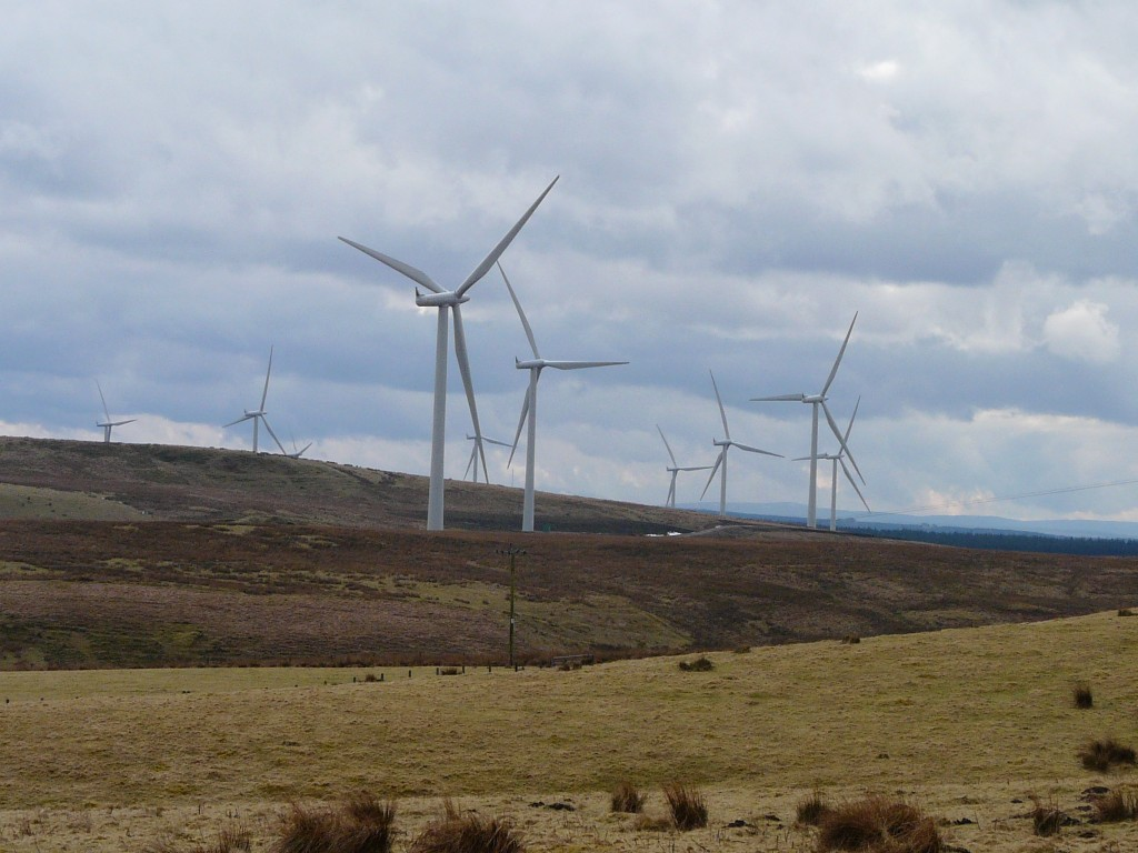The EU could achieve far higher targets for renewables. (I took this picture in Scotland - Irene Quaile)