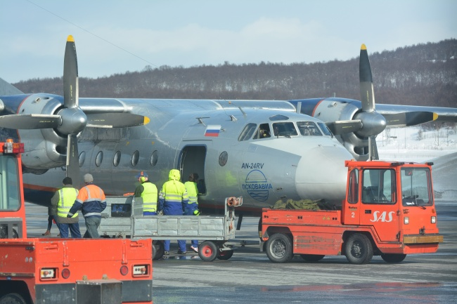 Who is actually operating the route from Arkhangelsk via Murmansk to Tromsø, Pskovavia or Nordavia? (Thomas Nilsen/Barents Observer)
