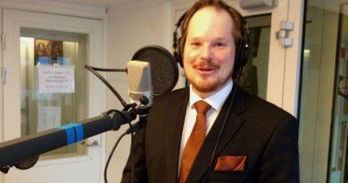 Henrik Karlsson, CEO of Biorecro. (Dave Russell/Radio Sweden)