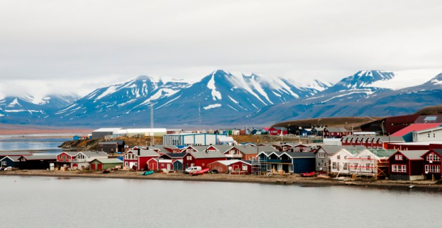 Longyearbyen, Norway. (iStock)