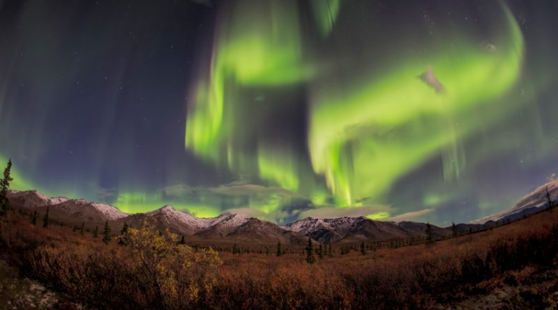 Northern lights over Alaska. (iStock)