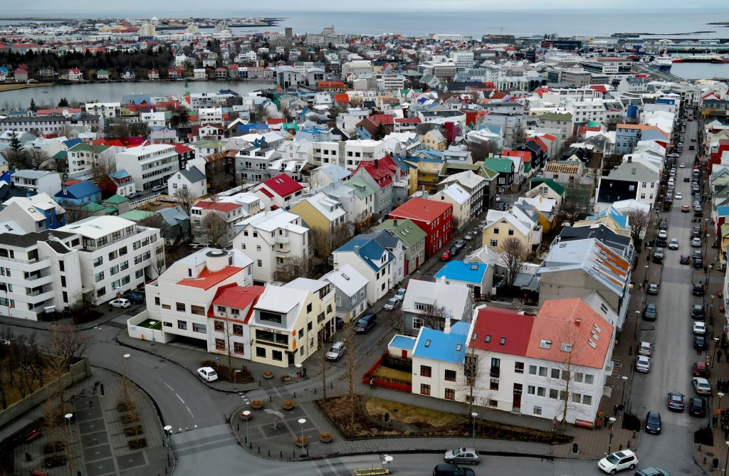 Reykjavik, Iceland in an undated photo. Iceland has been named most gender-equal country in the world for the 11th time in row. (Matt Cardy/Getty Images)
