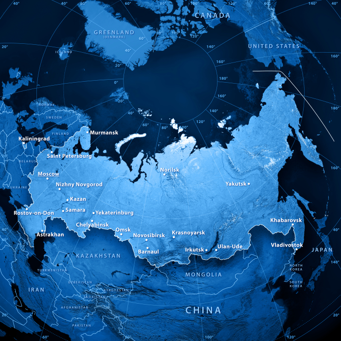 Radar stations are under construction in the Russian district of Vorkuta and in the Arctic Murmansk region. (iStock)