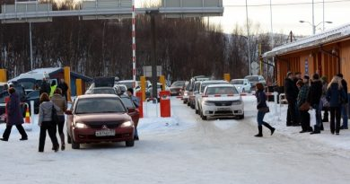 Storskog border check-point. (Thomas Nilsen/Barents Observer)