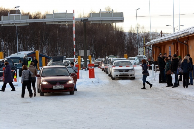 Storskog border check-point. (Thomas Nilsen/Barents Observer)