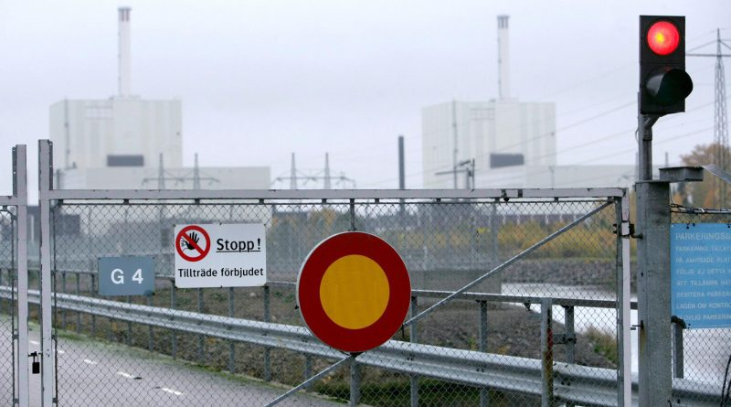 The Swedish nuclear power plant Forsmark in 2006. (Fredrik Sandberg/AFP/Getty Images)