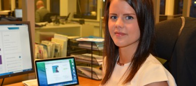 Heidi Andreassen is Norwegian leader for the Young Innovative Entrepreneurs project where business people across the borders in the Barents Region are teaming up. (Thomas Nilsen/Barents Observer)