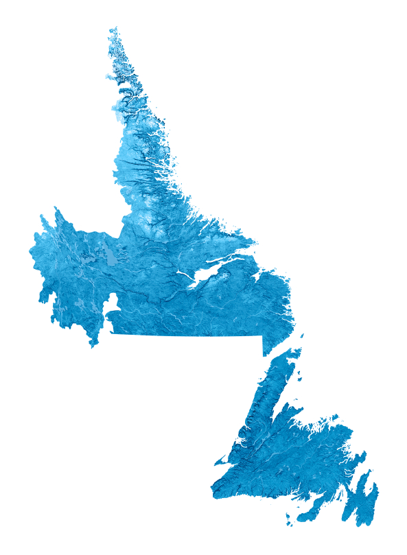 Map of Newfoundland and Labrador. (iStock)