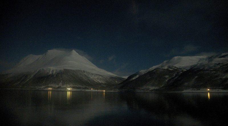 Night falls in Norway. (Mia Bennett)
