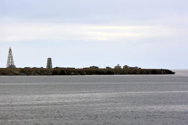 Cape Menshikova on the southern island of Novaya Zemlya. (Thomas Nilsen/Barents Observer)