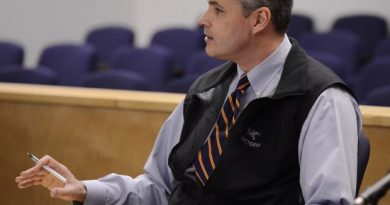 Assistant district attorney Brian Sullivan, photographed in a Barrow courtroom on Nov. 12, 2013, was shot and killed in Barrow Monday night. (Marc Lester / Alaska Dispatch News)