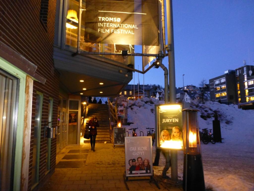 "Films and culture in plenty in Norway's ""Arctic capital."" (Irene Quaile)"