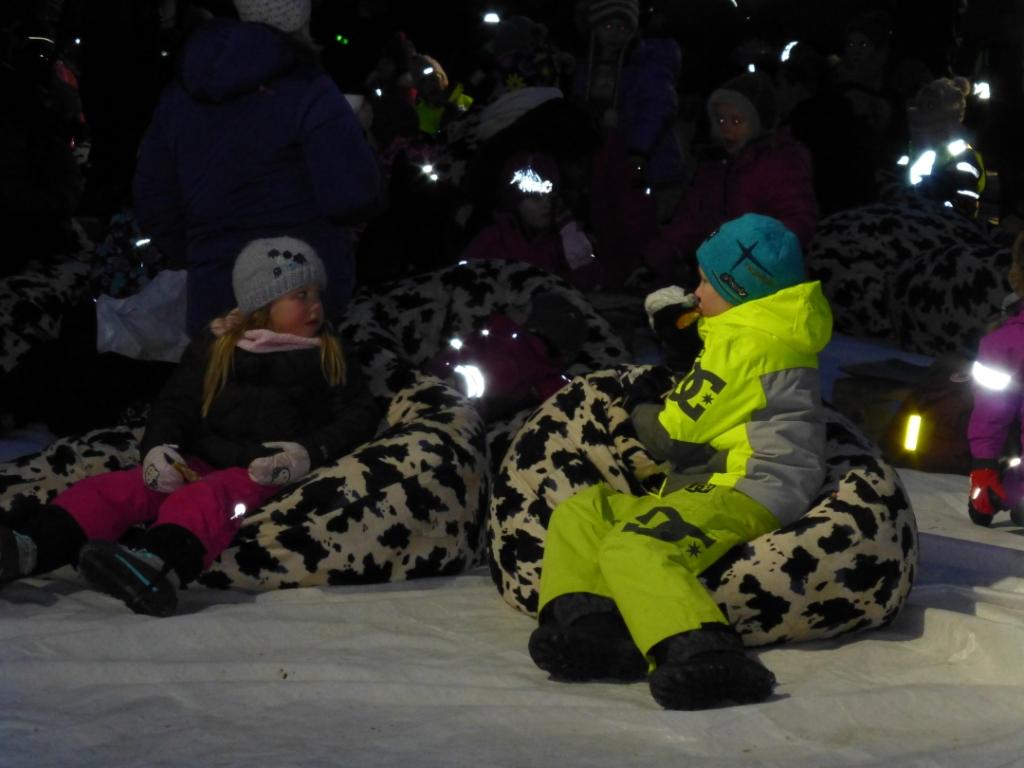 Fun for kids in Tromso centre. (Irene Quaile)