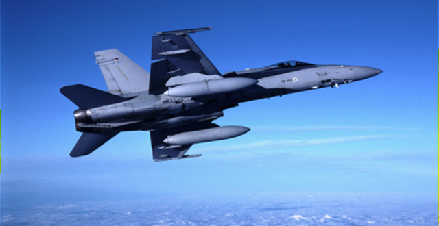Finland has just over 60 Hornet F-18 aircraft. (Lassi Tolvanen/Yle)