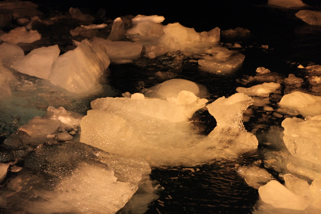 Ice is a problem for shipping and other activities in the dark season. (Irene Quaile