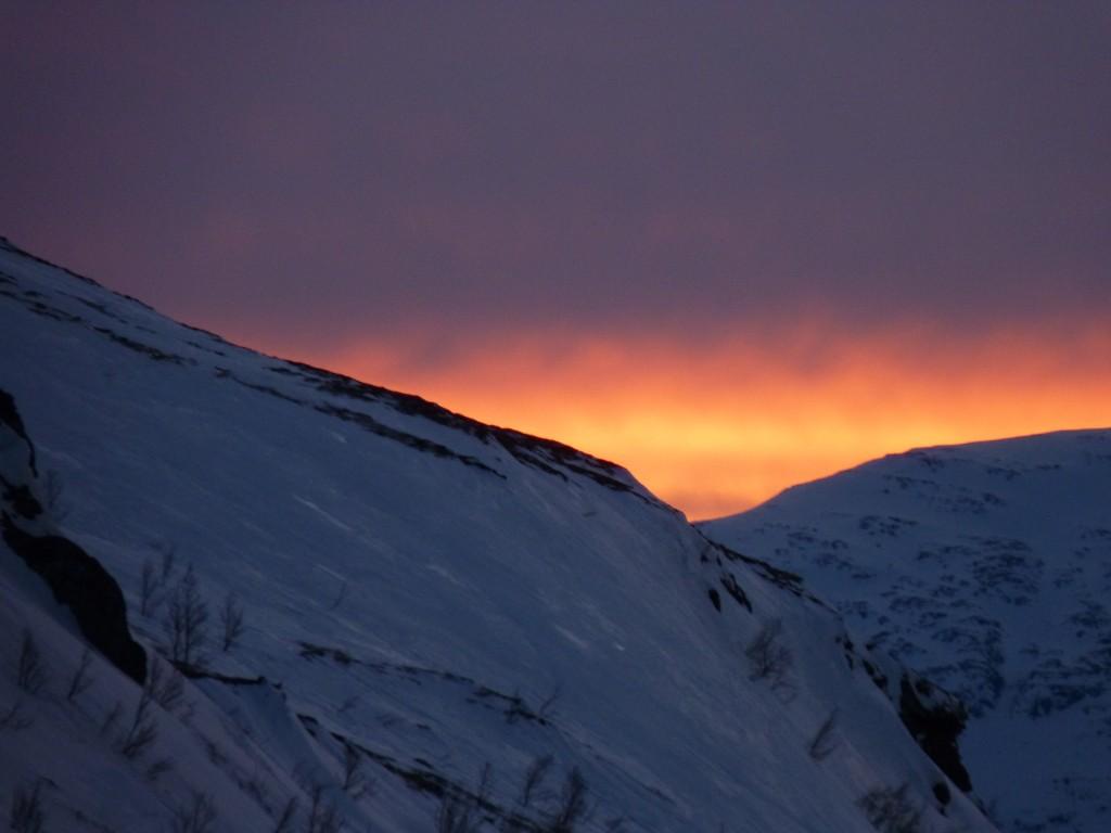 Arctic twilight. (Irene Quaile)