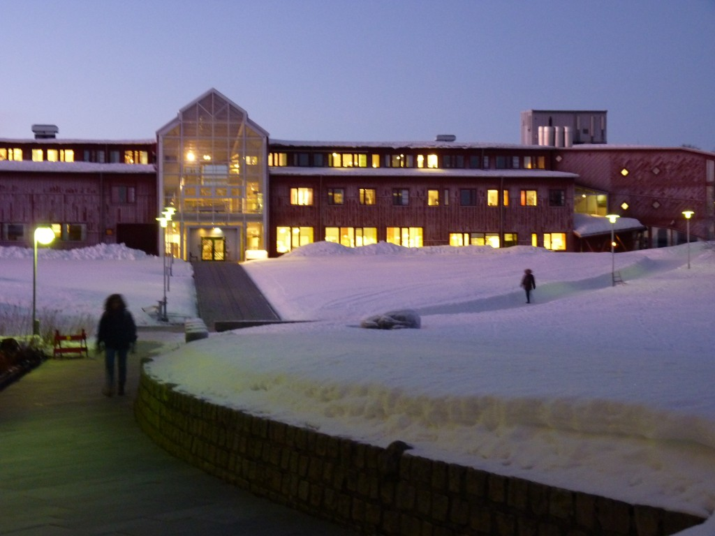 UiT Tromsö, the world's northernmost university. (Irene Quaile, 2014)